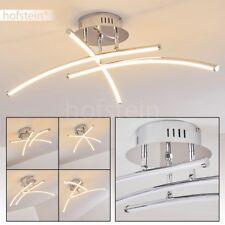 Plafonnier LED Lampe suspension Lustre Design Lampe de chambre à coucher Chrome