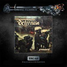 DELIRIUM – Errante (NEW*LIM.500*HMC 049 SERIES*BEL HARD ROCK 1983 + 4 BONUS)