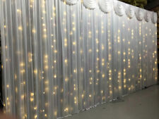 3Mx3M warm WHITE LED Fairy Lights for Wedding Backdrop