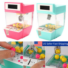 Electronic Claw Machine Toy Coin Operated Grabber Ball Catcher Arcade Game Alarm