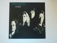 Van Halen OU812 LP Record Photo Flat 12x12 Poster