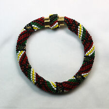 Bracelet made with Peytwist stitch w/customized GP Magnetic Clasp