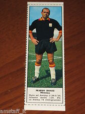 *MARIO ROSSI MESSINA=FIGURINA=1966/67=ALBUM FIGURINE CALCIATORI TEMPO