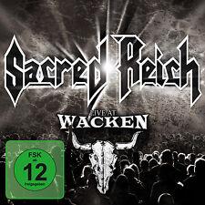 CD DVD Live At Wacken Open Air von Sacred Reich