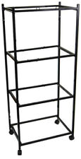 "4 Tiers Stand for 30""x18""x18"" ; Size Aviary Bird Cages T813 Black-161"