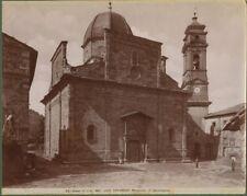 LAGO TRASIMENO (Perugia).Fotografia originale fine 1800
