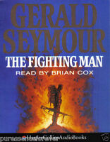 THE FIGHTING MAN - Gerald Seymour (Cassette Audio Book)