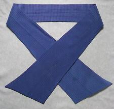 Pussy bow tie vintage 1980s punk femme self cravate bleu rouge à pois soie