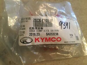 NEW! Kymco Kick Driven Gear Bet&Win People 150 Mongoose 90 PeopleS 28230-KNBN-90