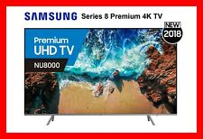 "SAMSUNG 55"" Smart TV Series 8 Premium Ultra HD 4K Brand New!! UA55NU8000WXXY"