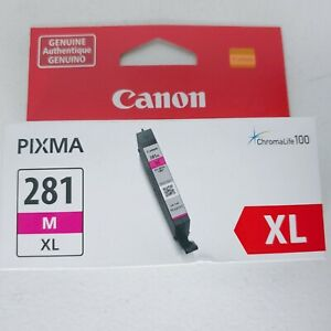 Canon 281 XL Magenta Ink Cartridge CLI-281 XLM New