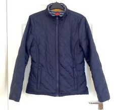 JOULES - Ladies Smart Tom Joule Jacket/ Coat- Dale - Quilted Blue - Size 10