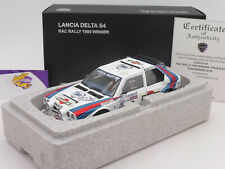 "Autoart 88517 # Lancia Delta s4 No. 6 winner RAC Rally 1985 ""wilson"" 1:18 rar!"
