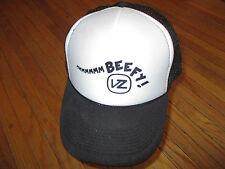 VON ZIPPER VZ MMM... BEEFY HAT Black Snapback Meshback Trucker NWOT Unworn