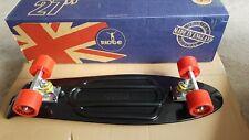 "Ridge 27"" Big Brother Mini Cruiser Penny- Nickel Board Skate board Black/ Red"