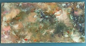 "Large Original Acrylic Art Painting Signed by Artist Joe Eccles - ""Vague Dreams"""
