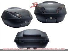 bauletto baule Top Case per moto scooter 52L nero opaco carbonio con schienalino