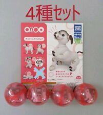 Sony Aibo 4 types set desktop figure aibo gacha Capsule toy
