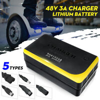 Lithium Battery 48V Output 3A Charger For Single-wheeled Electric Bicycle 8H
