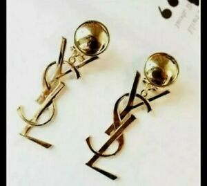 YSL inspired Earrings Jewellery drop down top quality