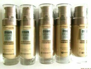 Maybelline NEW Dream RADIANT Liquid Hydrating Foundation 30ml - Choose Shade: