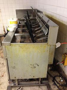 Frymaster large capacity electric deep fryer