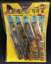 1989 DBZ Dragon Ball Z Vintage Ruler Store Display 25 Rulers Bird Studio NEW!