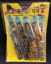 1989 DBZ Dragon Ball Z Complete Ruler Store Display 25 Rulers Bird Studio NEW!