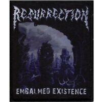 Resurrection Embalmed Existence Patch Official Death Metal Band Merch New