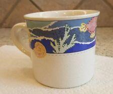 Christopher Stuart CARIBE Y2239 Coffee Cup Nautical Ocean Reef Fish Seashells