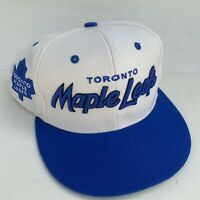 Toronto Maple Leafs Blue White Hat Cap Adjustable One Size Fits