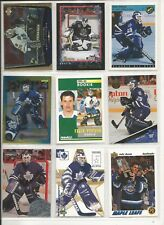 Lot of 34 Different Felix Potvin Hockey Card Collection Mint