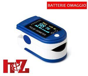 Saturimetro Misuratore di ossigeno Portatile da dito Pulsossimetro Ossimetro