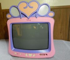 "DISNEY PRINCESS TELEVISION - 13"" COLOR TV - PINK & PURPLE, MODEL DT1350-P"