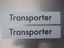 Dealer Showroom number plates sign logo badge VW Volkswagen Transporter