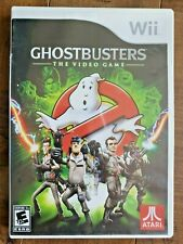 Ghostbusters: The Video Game (Nintendo Wii, 2009) Wii U COMPATIBLE