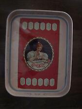 Coca Cola Vassoio in latta da collezione Calendario 1900