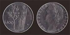 100 LIRE 1987 MINERVA - ITALIA FDC/UNC FIOR DI CONIO