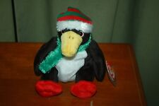 TOBOGGAN  the Christmas Holiday  PENGUIN  - Ty Beanie Baby  - MWMT
