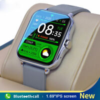 Sports Smart Watch Bluetooth-Call Music Control Fitness Tracker For Android IOS