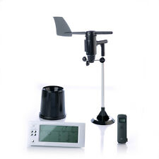 Professional weather station measure temperature wind speed/direction rainfall