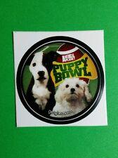 "ANIMAL PLANET PUPPY BOWL DOG FOOTBALL TV SMALL 1.5"" GETGLUE GET GLUE STICKER"