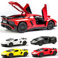 1/32  Racing Car Toys  Model LP750-4 Lamborghini Aventador Diecast  Sound&Light