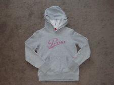 LADIES XS PUMA grey hoodie hood wincheater sweater TOP