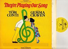 THEY'RE PLAYING OUR SONG soundtrack marvin hamlisch/tom conti CHOP E6 LP EX/EX-