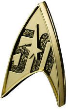 "STAR TREK: The Original Series - 50th Anniversary 2"" Metallic Lapel Pin (QMx)"
