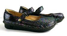 Alegria Mary Jane Belle Shoes NWOT Diamonds Forever Metallic 39 US Size 9 - 9.5