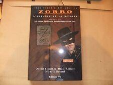 GUY WILLIAMS ZORRO CLASSIC DISNEY TV SHOW NEW FRENCH BOOK