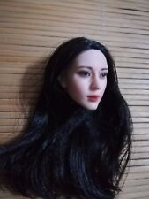 """1:6 Scale Chinese Ghost Story Joey Wang Head Model Toy For 12"""" Woman Pale Body"""