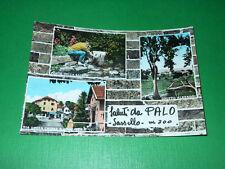 Cartolina Saluti da Palo ( Sassello ) - Vedute diverse 1966